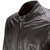 Giacca in pelle con tasche bata, marrone, 974-4171 - 15