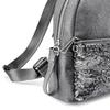 Zaino paillettes da donna bata, grigio, 961-2148 - 15