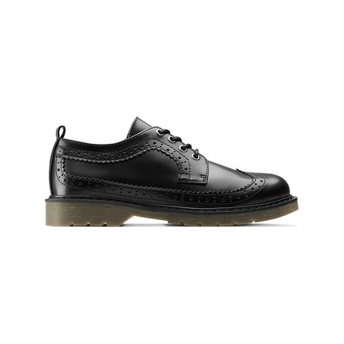 Scarpe basse con lacci mini-b, nero, 311-6276 - 26