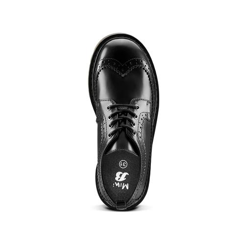 Scarpe basse con lacci mini-b, nero, 311-6276 - 15