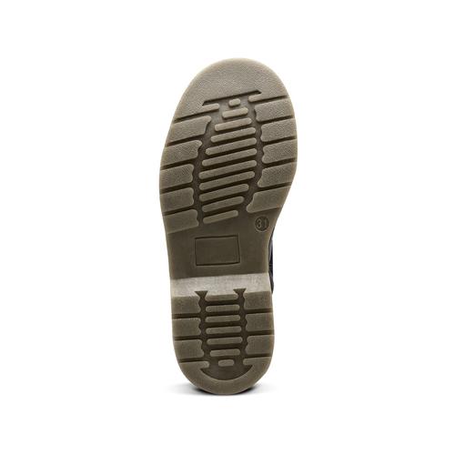 Stivaletti Mini B con lacci mini-b, nero, 391-6407 - 17