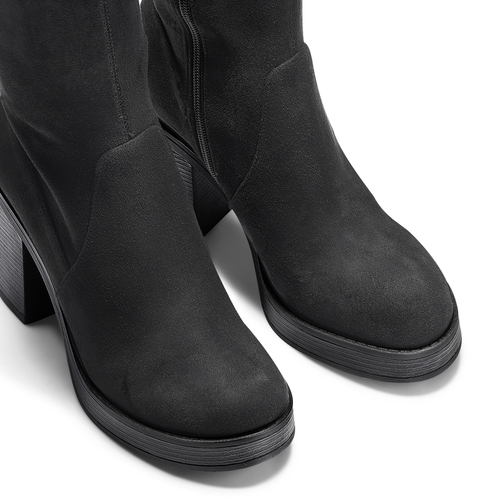 Stivali oversize bata, nero, 799-6660 - 15