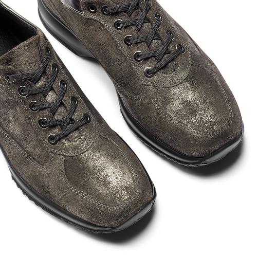 Scarpe casual in pelle da donna bata, marrone, 524-2663 - 19