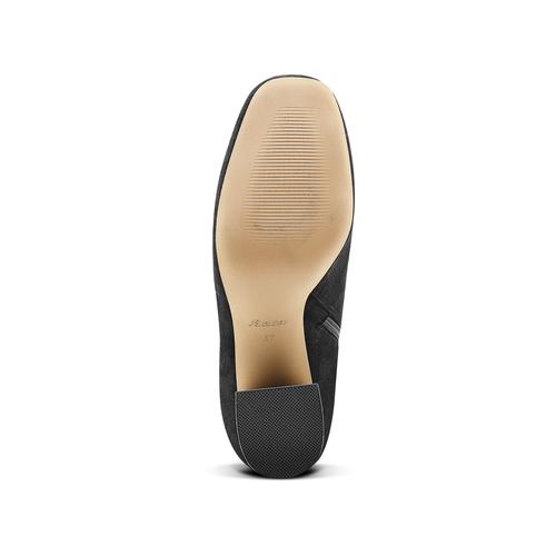 Stivali Kristen con tacco bata, nero, 799-6661 - 17