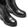 Stivaletti da donna con borchie bata, nero, 694-6410 - 15