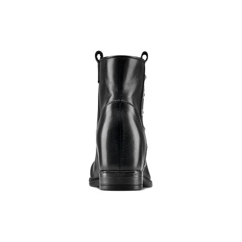 Stivaletti da donna con borchie bata, nero, 694-6410 - 16