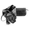 Shopper con borsello interno bata, nero, 961-2200 - 17