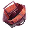 Shopper in Vera Pelle bata, rosso, 964-5522 - 16
