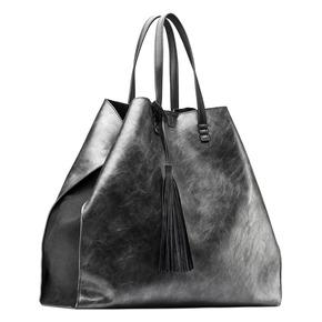 Shopper con borsello interno bata, nero, 961-2200 - 13
