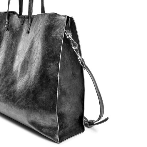 Shopper con borsello interno bata, nero, 961-2200 - 15