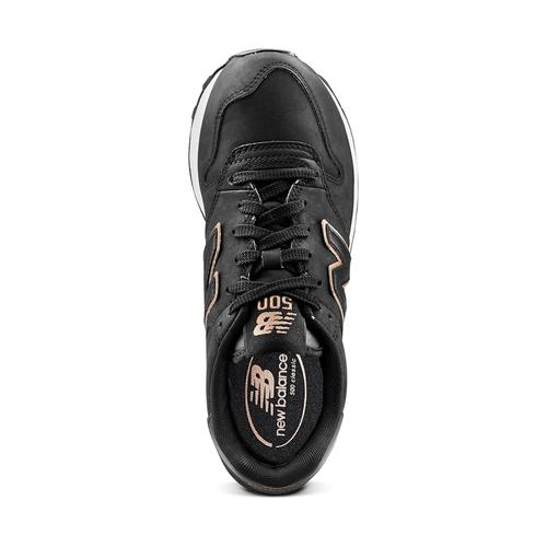 Sneakers da donna New Balance new-balance, nero, 501-6500 - 15