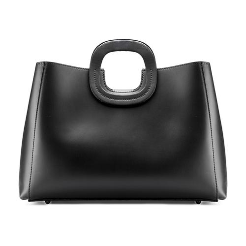 Borsa rigida in pelle bata, nero, 964-6247 - 26