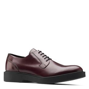 Scarpe derby color vinaccia bata, rosso, 824-5157 - 13