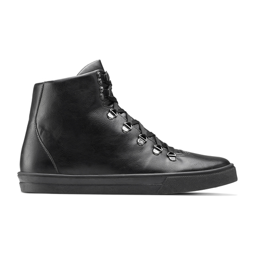 Sneakers alte da uomo north-star, nero, 841-6108 - 26