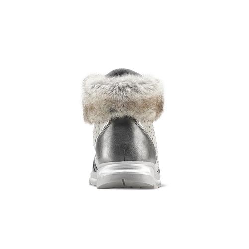 Sneakers con pelliccia da bimba mini-b, grigio, 329-2287 - 16