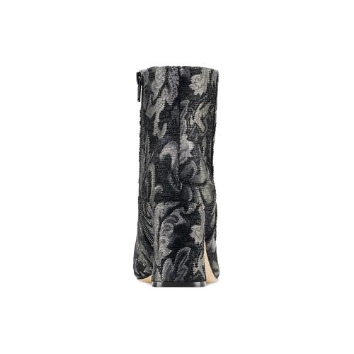 Tronchetti intarsiati con tacco bata, nero, 799-6171 - 16