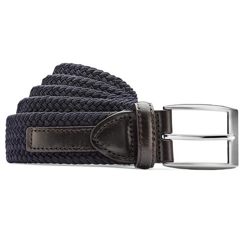 Cintura intrecciata bata, blu, 959-9124 - 13