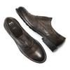 Scarpe in vera pelle senza lacci bata, marrone, 824-4240 - 26