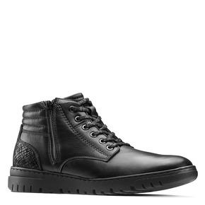 Sneakers alte da uomo bata, nero, 894-6719 - 13