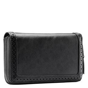 Portafoglio da donna in similpelle bata, nero, 941-6159 - 13