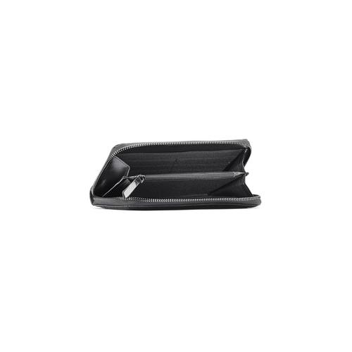 Portafoglio da donna in similpelle bata, nero, 941-6159 - 16