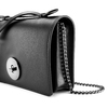 Pochette nera in pelle bata, nero, 964-6241 - 15