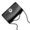 Pochette nera in pelle bata, nero, 964-6241 - 17