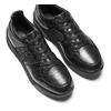 Sneakers da donna in pelle bata, nero, 624-6178 - 19