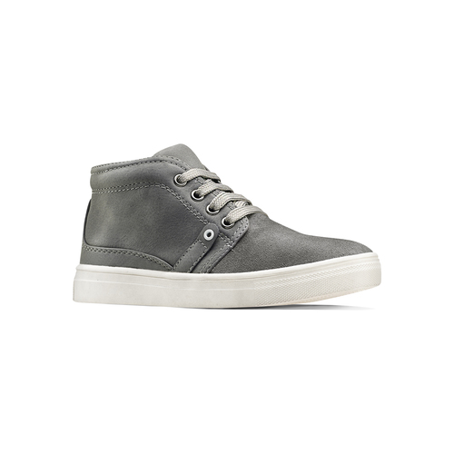 Sneakers alte da bimbo mini-b, grigio, 311-2279 - 13