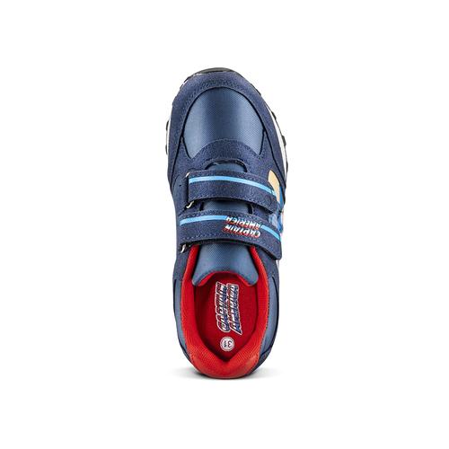Sneakers Capitan America da bambino, blu, 311-9283 - 15