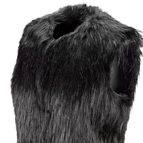 Gilet ecopelliccia bata, nero, 979-6175 - 15