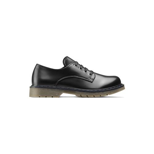 Scarpe allacciate bimbo mini-b, nero, 211-6186 - 26