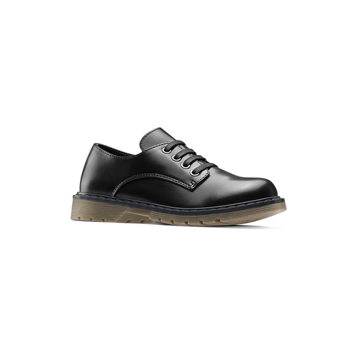 Scarpe allacciate bimbo mini-b, nero, 211-6186 - 13