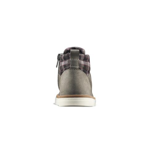 Sneakers alla caviglia da bambino mini-b, grigio, 291-2172 - 16