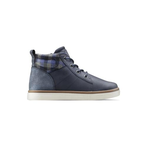Sneakers alla caviglia da bimbo mini-b, blu, 291-9172 - 26