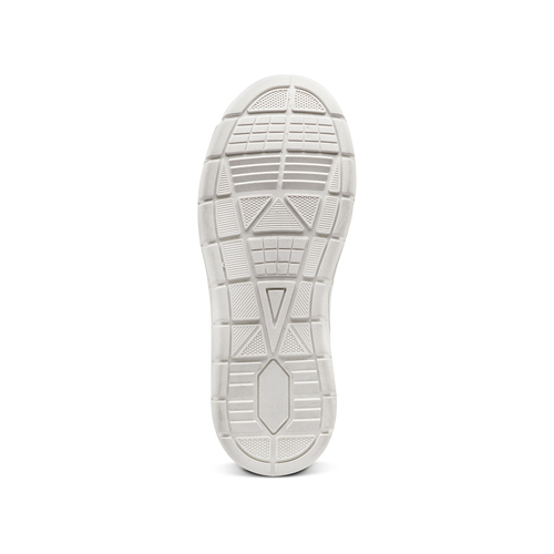 Sneakers alte da bambino con zip mini-b, blu, 391-9397 - 17