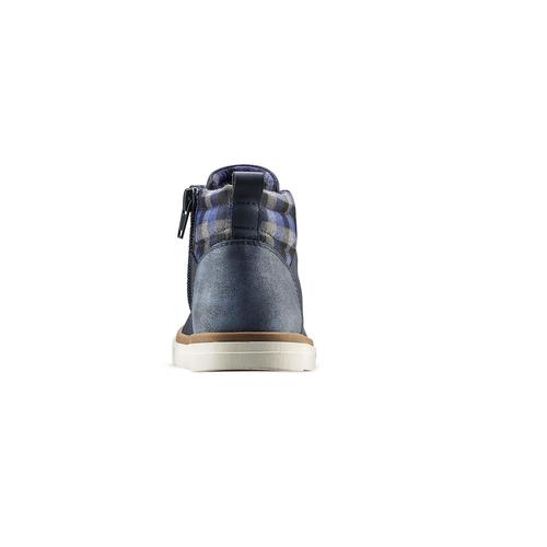Sneakers alla caviglia da bimbo mini-b, blu, 291-9172 - 16