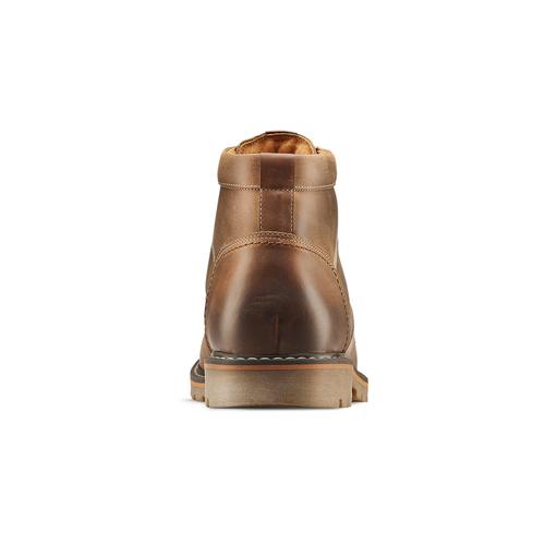 Stivaletti in pelle da uomo bata, marrone, 894-3140 - 16