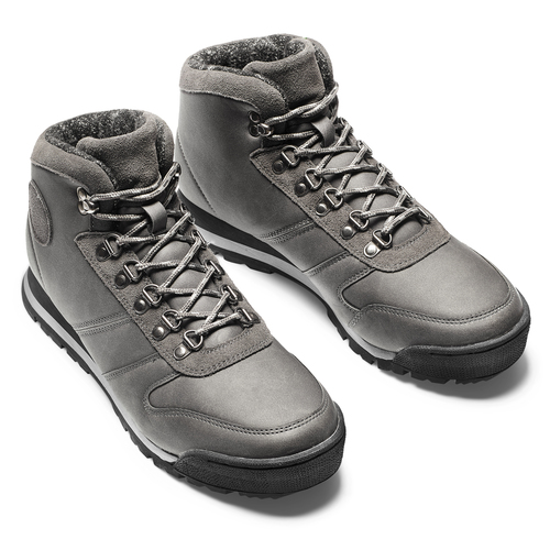 Scarponcini uomo bata, grigio, 891-2722 - 19