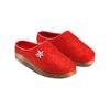 Pantofole da donna in lana bata, rosso, 579-5420 - 16