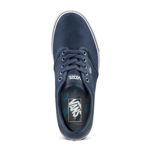 Sneakers Vans in suede in uomo vans, blu, 803-9210 - 15