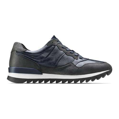 Sneakers casual da uomo north-star, blu, 841-9738 - 26