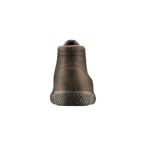 Sneakers da uomo in pelle bata, marrone, 844-4116 - 16