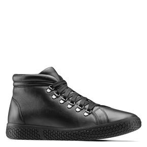Sneakers da uomo in pelle bata, nero, 844-6116 - 13