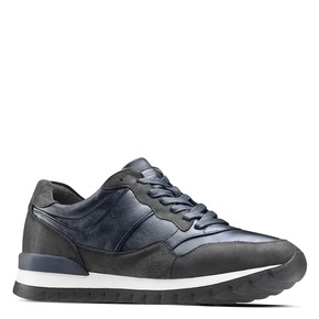 Sneakers casual da uomo north-star, blu, 841-9738 - 13
