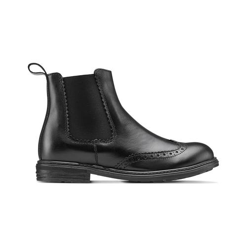 Chelsea Boots da bambini mini-b, nero, 394-6425 - 26
