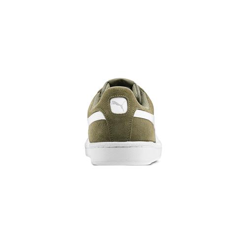Sneakers Puma in suede puma, verde, 803-7312 - 16