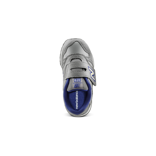 Sneakers con strap da bimbi new-balance, grigio, 101-2473 - 15