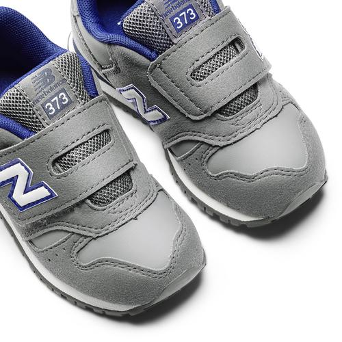 Sneakers con strap da bimbi new-balance, grigio, 101-2473 - 19