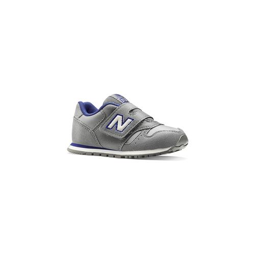 Sneakers con strap da bimbi new-balance, grigio, 101-2473 - 13
